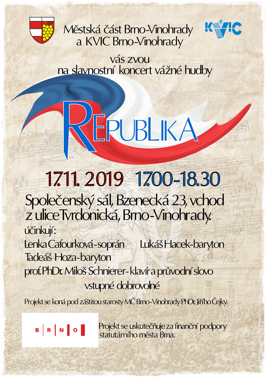 REPUBLIKA - koncert vážné hudby