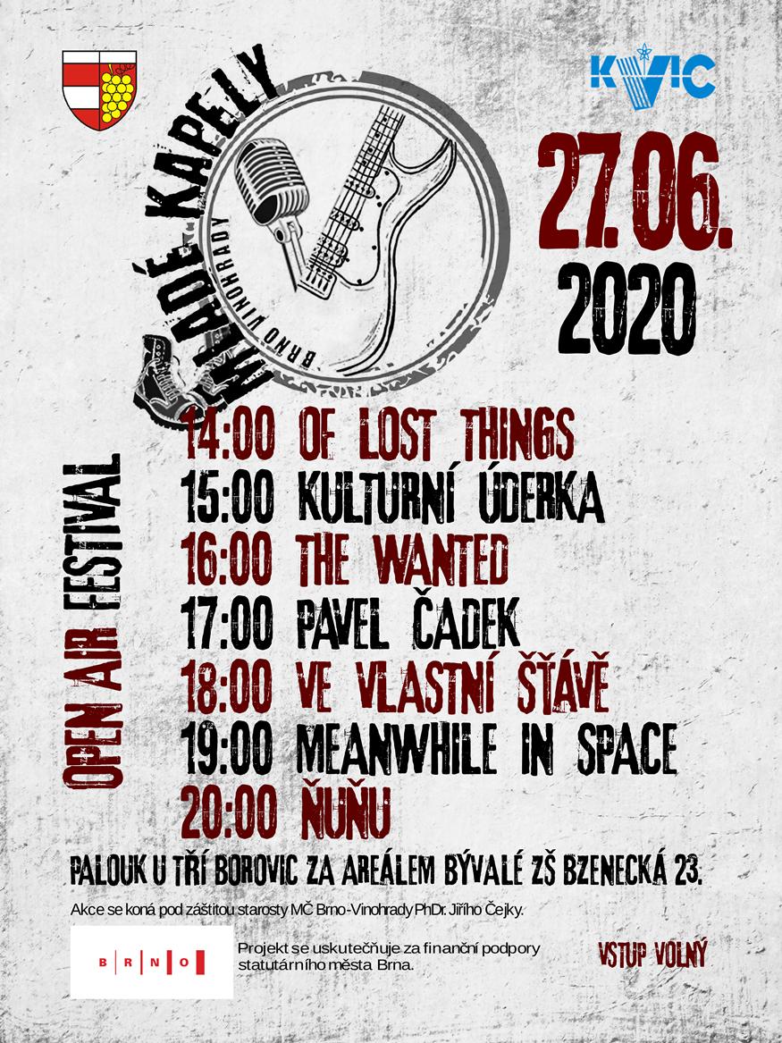 Mladé kapely 2020