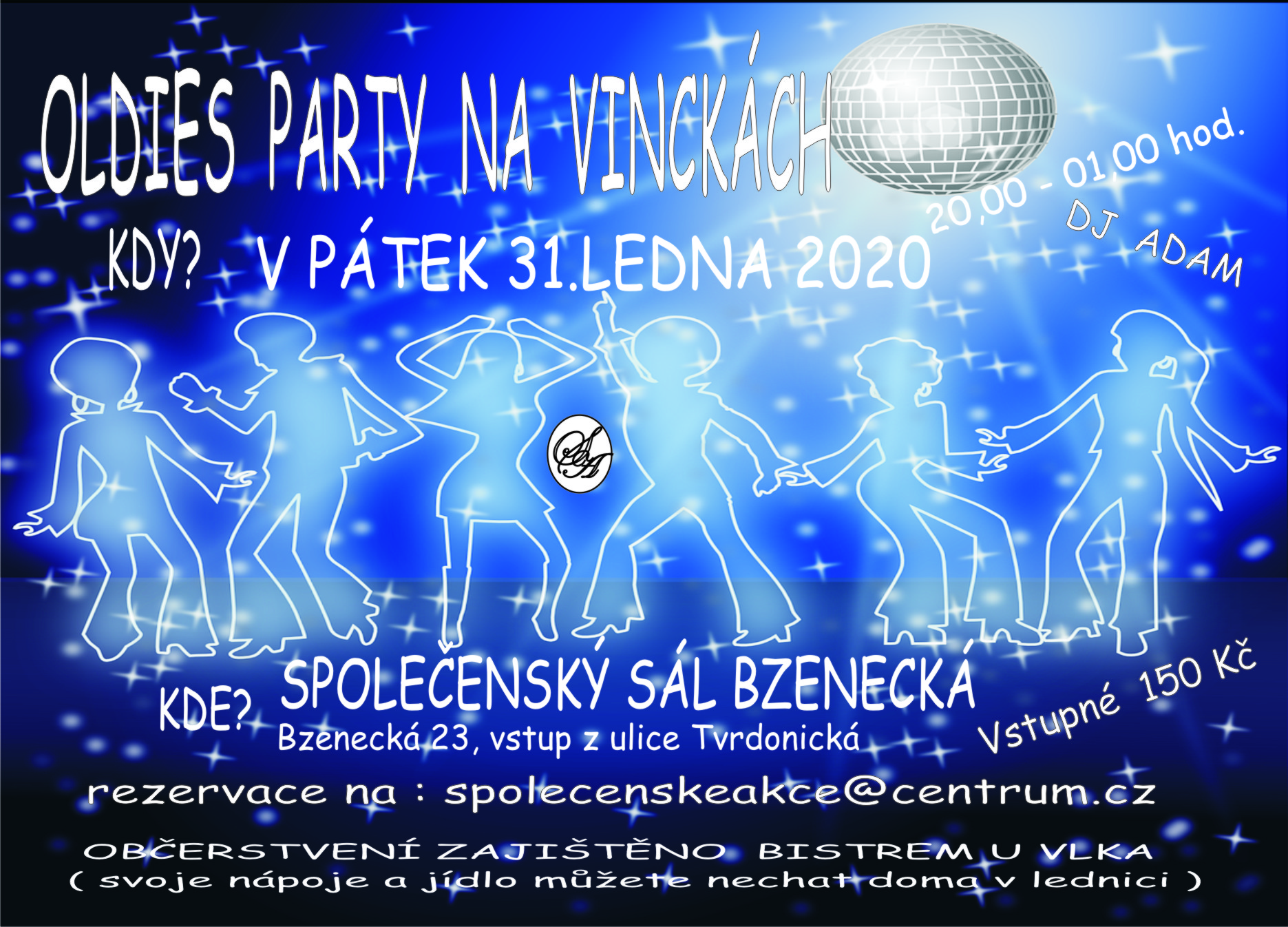 OLDIES PARTY NA VINCKÁCH