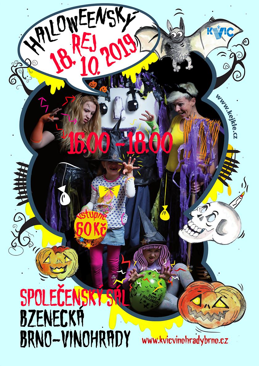 Halloweenský rej