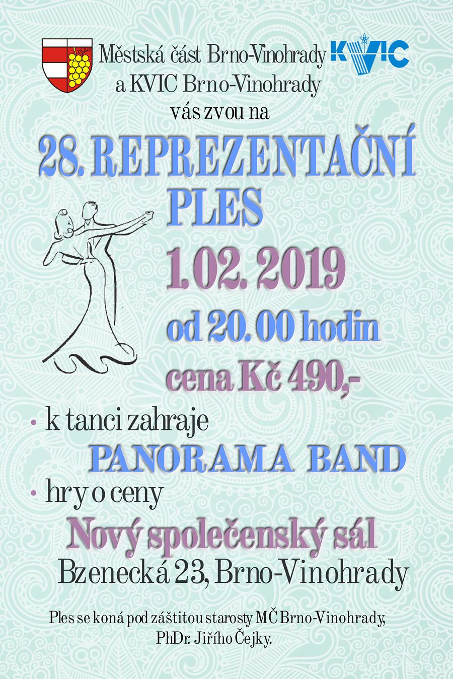 28. reprazentační ples